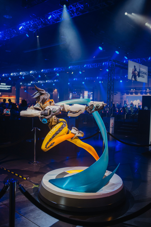 Photo de la première journée de la BlizzCon 2019