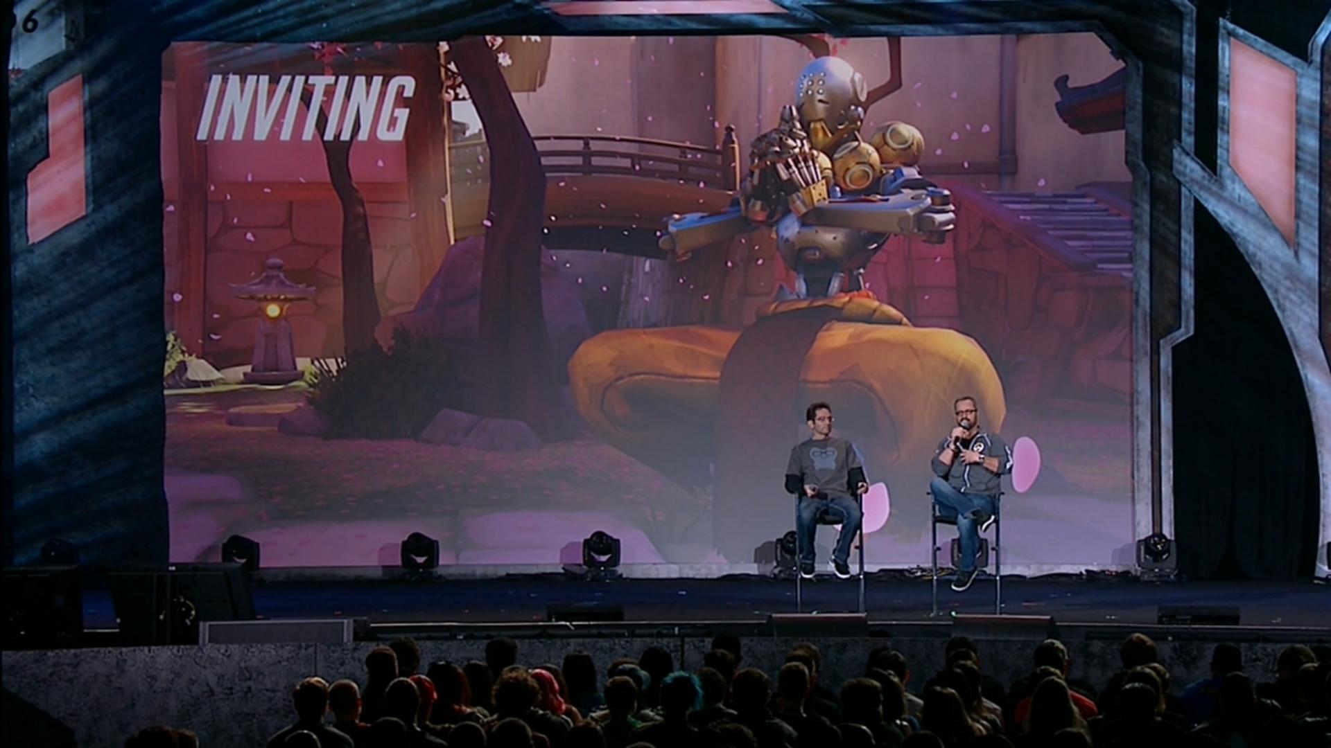 Conférence Overwatch BlizzCon 2014
