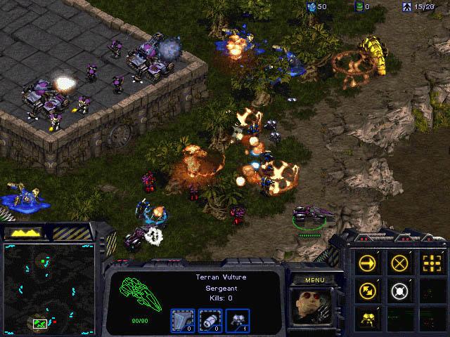 Screenshot de Starcraft.