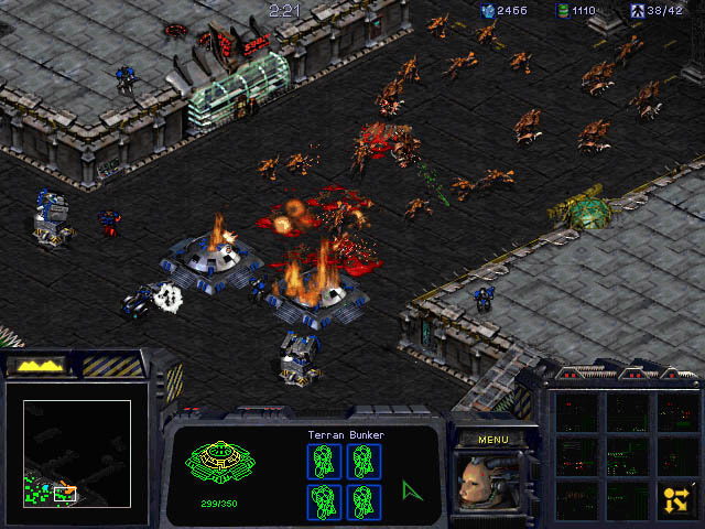 Screenshot de Starcraft.