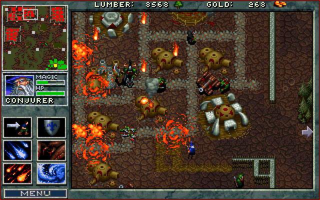 Screenshot de Warcraft: Orcs and Humans.