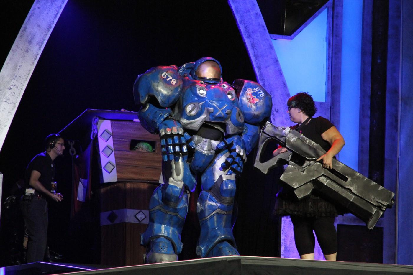 BlizzCon 2011 : Concours de costumes.