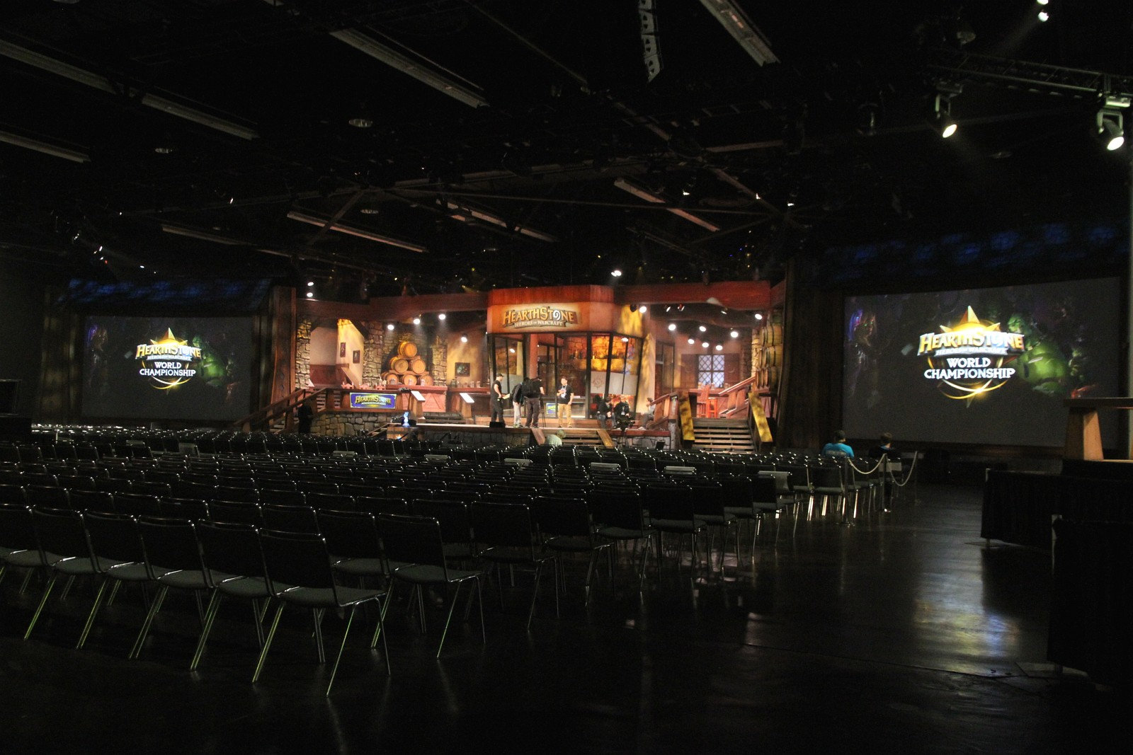 Photo réalisée lors de la BlizzCon 2014.