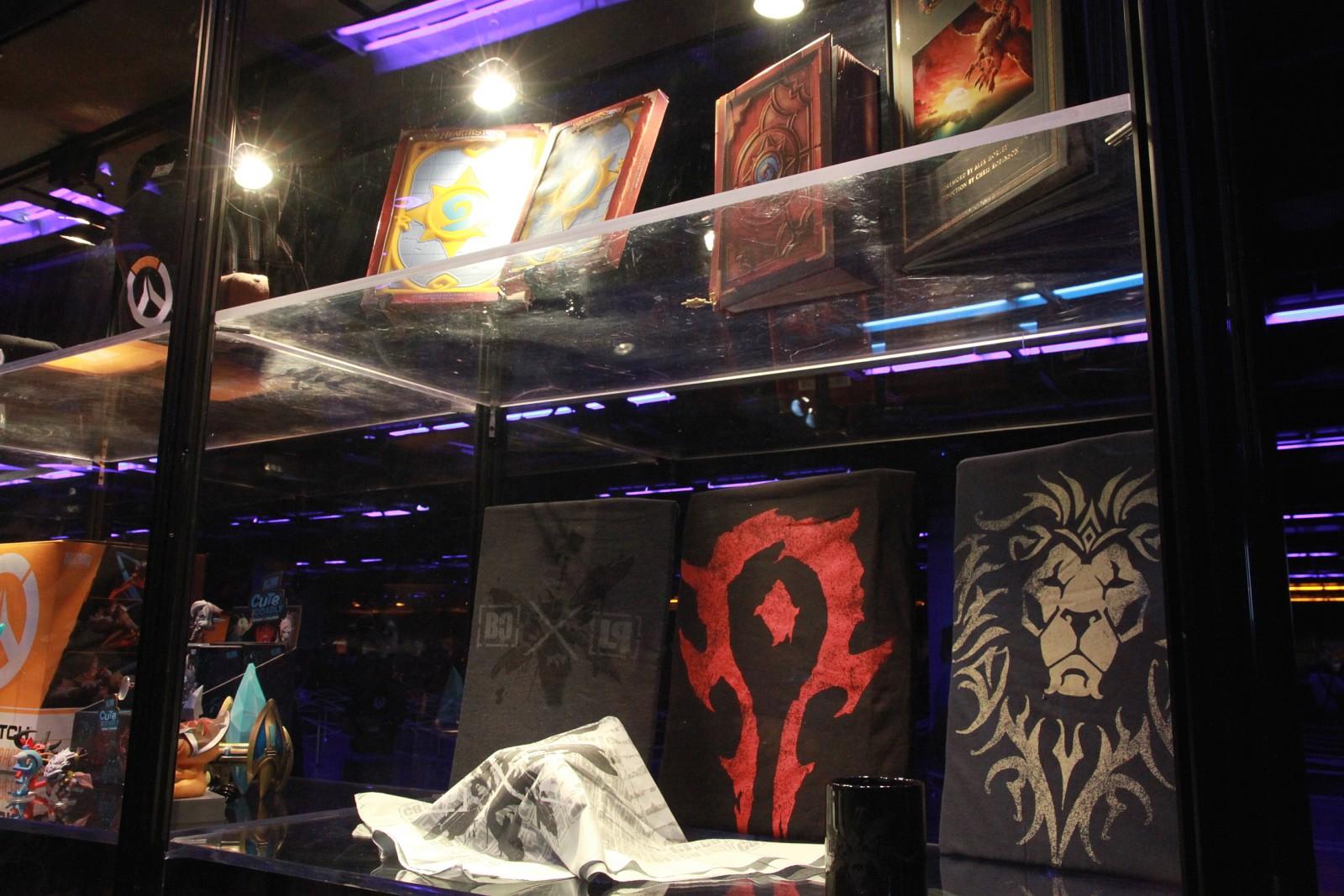 Photo réalisée lors de la BlizzCon 2015.