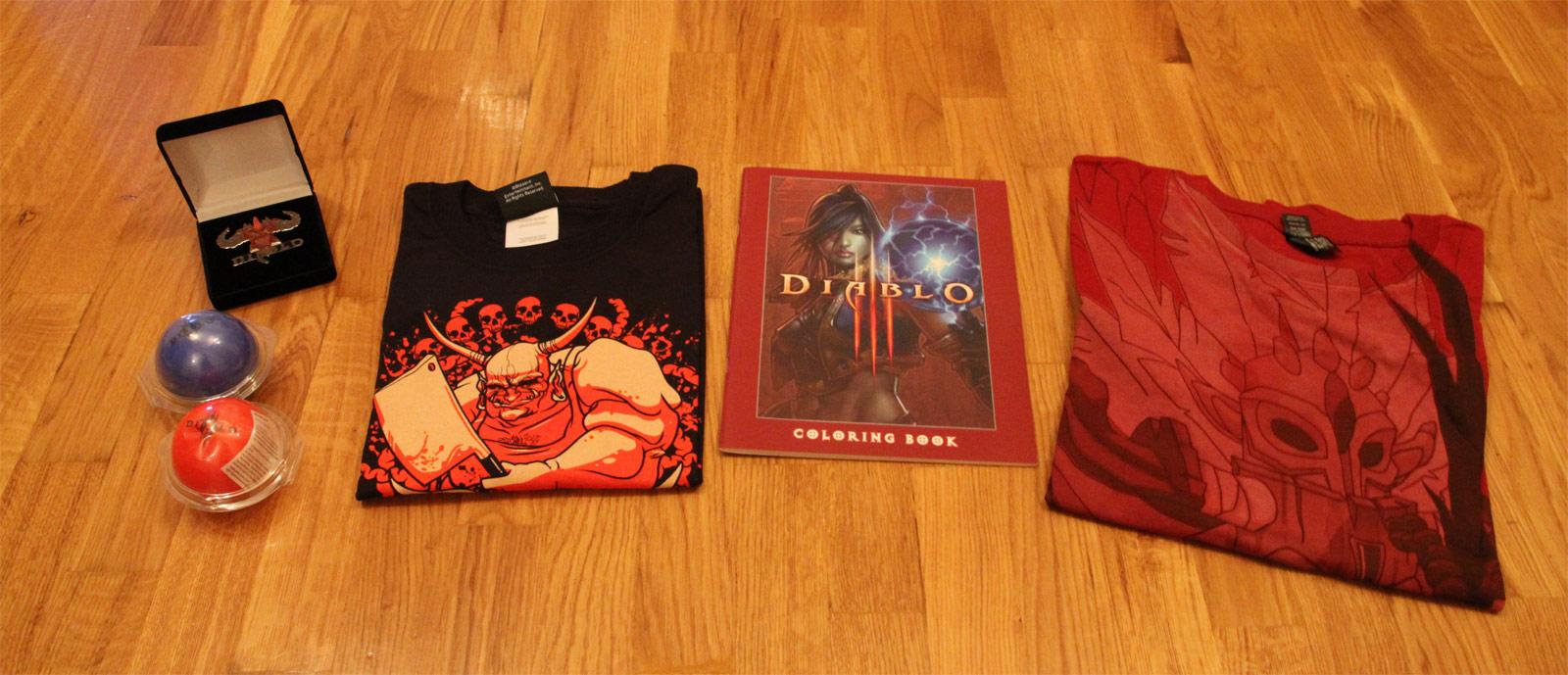 Concours des 13 ans du réseau JudgeHype. Lots Diablo.