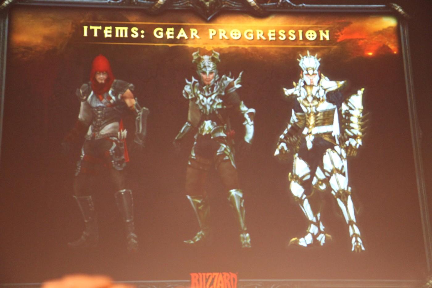 Conférence dédiée à Diablo III lors de la GamesCom 2011.