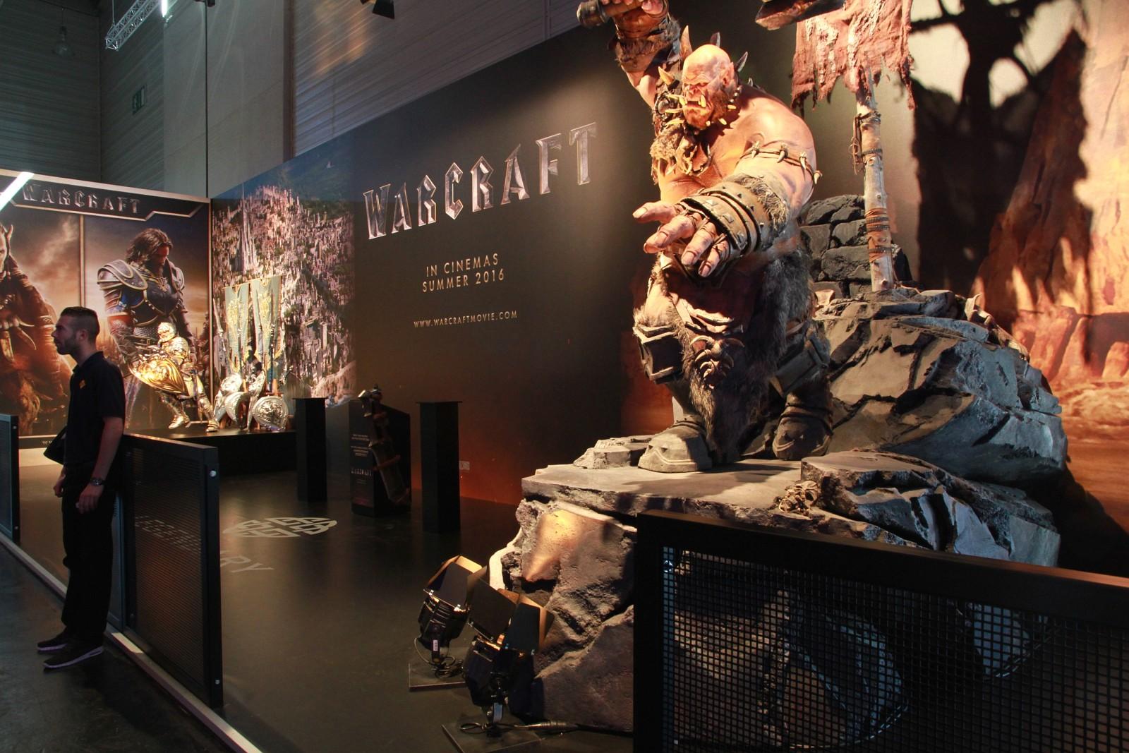 Photo du stand de Blizzard à la Gamescom 2015.