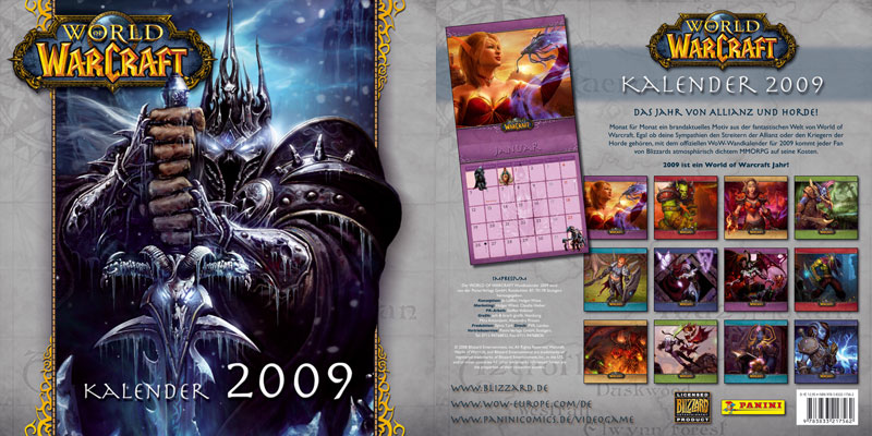 Wow Calendrier.Calendrier World Of Warcraft Judgehype